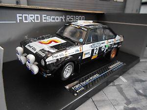 【送料無料】模型車 モデルカー スポーツカー フォードエスコートアイルランドラリー#バタネンシェルサンスターford escort mkii rs 1800 20 rallye 1982 ireland 2 vatanen shell sunstar 118