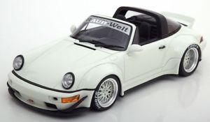 【送料無料】模型車 モデルカー スポーツカー グアテマラポルシェタルガソフトウェアライセンスホワイト118 gt spirit porsche 911 964 targa rwb white