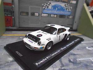 【送料無料】模型車 モデルカー スポーツカー ポルシェラリーストロースパークカレラ#porsche 911 carrera rs 30 rallye arb at 1977 1 rhrl stroh umbau spark 143