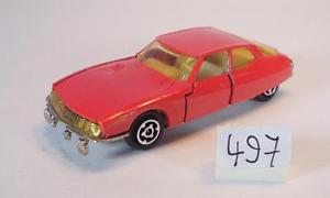 【送料無料】模型車 モデルカー スポーツカー シトロエンマセラティマセラティリムジンレッド#majorette 165 nr 250 citroen maserati sm limousine rot 497