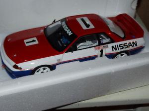 【送料無料】模型車 モデルカー スポーツカー スカイラインrautoart nissan skyline gtr r32 bathurst winner 1991 118 ovp