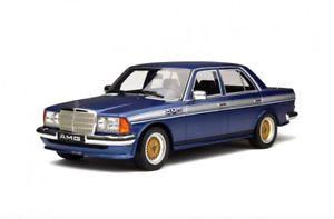 【送料無料】模型車 モデルカー スポーツカー メルセデスベンツクラスチューニングオットーmercedes benz w123 e 280 klasse amg blau blue tuning ot221 resin otto rar 118