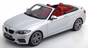 【送料無料】模型車 モデルカー スポーツカー グアテマラパフォーマンスシルバー118 gt spirit bmw m235i m performance convertible silver