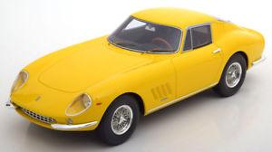 【送料無料】模型車 モデルカー スポーツカー フェラーリイエロー118 cmr ferrari 275 gtb 1965 yellow