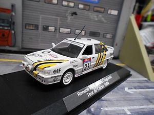 【送料無料】模型車 モデルカー スポーツカー ルノーターボツールドコルスラリー#renault 21 turbo gra rallye tour de corse 1988 21 bugalski d umbau norev 143