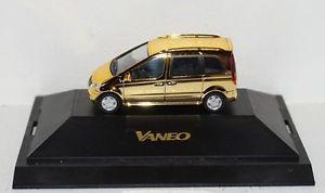 【送料無料】模型車 モデルカー スポーツカー メルセデスベンツバネオコレクションパソコンmercedesbenz vaneo dcvdcollection nr 9 gold 187 in pc und ovp