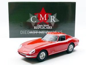 【送料無料】模型車 モデルカー スポーツカー フェラーリcmr 118 ferrari 275 gtb 1966 cmr033
