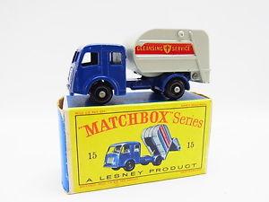 【送料無料】模型車 モデルカー スポーツカー マッチコレクタトラックモデルボックスlot 33336 matchbox 15 c tippax refuse collector lkw modell neuwertig dbox