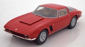 【送料無料】模型車 モデルカー スポーツカー レッドハット118 bos iso grifo 7 litri ir8 1972 red