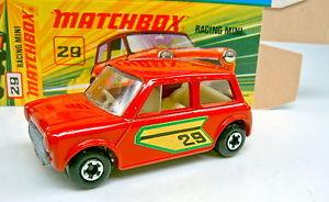 【送料無料】模型車 モデルカー スポーツカー マッチレーシングミニトップボックスセンターカットホイールmatchbox sf nr 29b racing mini drot rare centercut rder top in box