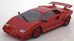 【送料無料】模型車 モデルカー スポーツカー グアテマラランボルギーニスペシャル118 gt spirit lamborghini countach koenig specials redmetallic