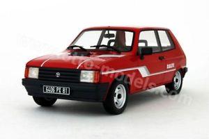 【送料無料】模型車 モデルカー スポーツカー オットーモデルタルボットラリーotto models 112 talbot samba rallye 1983 rot 118 limitiert 11000