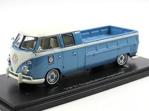 【送料無料】模型車 モデルカー スポーツカー カルトスペアダブルキャビンautocult 07009 1963 vw t1 doppelkabine langpritsche genuine spare parts 143