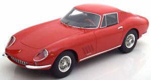 【送料無料】模型車 モデルカー スポーツカー フェラーリレッドハット118 cmr ferrari 275 gtb 1965 red