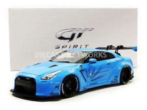 【送料無料】模型車 モデルカー スポーツカー グアテマラポンドパフォーマンスgt spirit 118 nissan r35 gtr lb performance zm116