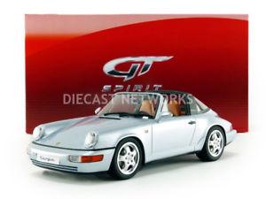 【送料無料】模型車 モデルカー スポーツカー グアテマラポルシェタルガgt spirit 118 porsche 911 964 targa 1991 gt185