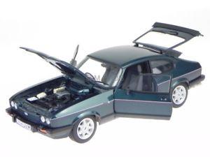 【送料無料】模型車 モデルカー スポーツカー フォードカプリブルックランズグリーンモデルカーford capri 28i brooklands 1986 grn modellauto 182718 norev 118