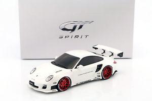 【送料無料】模型車 モデルカー スポーツカー ポルシェポンドパフォーマンスホワイトグアテマラporsche 911 997 lb performance baujahr 2010 wei 118 gtspirit