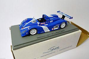 【送料無料】模型車 モデルカー スポーツカー スパークベイル#ルマンspark 143 vaillante lm 10 le mans 2002 scla09