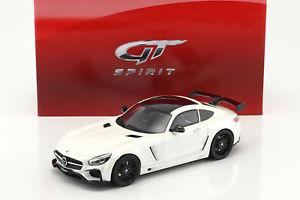 【送料無料】模型車 モデルカー スポーツカー メルセデスベンツファブホワイトブラックグアテマラmercedesbenz amg gt fab design areion wei schwarz 118 gtspirit