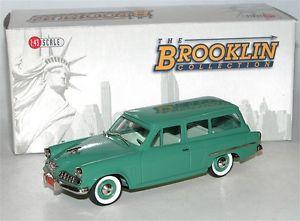【送料無料】模型車 モデルカー スポーツカー ドアステーションワゴンbrooklin brk 107 1954 studebaker conestoga 2door station wagon loewy 143