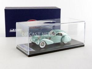 【送料無料】模型車 モデルカー スポーツカー ブガッティタイプエアロラインlooksmart 143 bugatti type 57s competition aeroline 1953 ls442