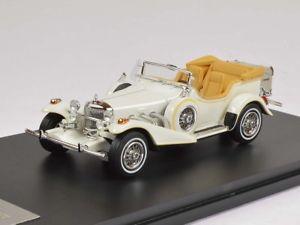 【送料無料】模型車 モデルカー スポーツカー ネオエクスカリバーシリーズフェートンホワイトneo excalibur series iii phaeton 1977 white 143 47195