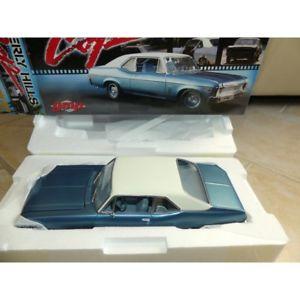 【送料無料】模型車 モデルカー スポーツカー シボレーノヴァクーペビバリーヒルズchevrolet nova coupe 1970 beverly hills movie gmp 118