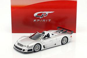 【送料無料】模型車 モデルカー スポーツカー ベンツロードスターシルバーグアテマラmercedesbenz clk gtr roadster baujahr 1998 silber 118 gtspirit