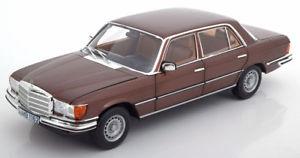 【送料無料】模型車 モデルカー スポーツカー メルセデスブラウンメタリック118 norev mercedes 450 sel 69 w116 19761980 brownmetallic