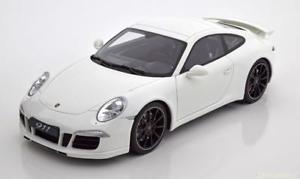 【送料無料】模型車 モデルカー スポーツカー グアテマラポルシェカレラホワイト118 gt spirit porsche 911 991 carrera s aerokit 2014 white ltd 504