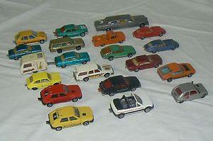 【送料無料】模型車 モデルカー スポーツカー ロットボンフランスmajorette lot de 20 anciennes voitures en trs bon tat , 100 made in france