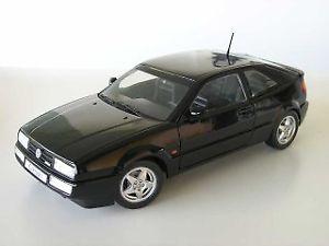 【送料無料】模型車 モデルカー スポーツカー ブラックモデルvw corrado vr6 schwarz modellauto revell 118