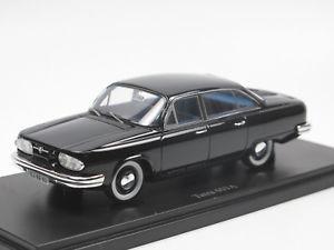 【送料無料】模型車 モデルカー スポーツカー セダンカルトタトラプロトタイプブラックautocult 06023 tatra 603 a limousine prototype 1961 cz schwarz 143