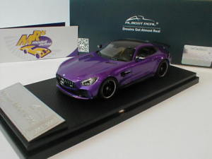 【送料無料】模型車 モデルカー スポーツカー リアルメルセデスベンツスカイパープルalmost real 420701 mercedesbenz amg gt r baujahr 2017 sky purple 143