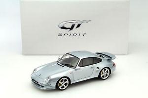 【送料無料】模型車 モデルカー スポーツカー ポルシェターボシルバーグアテマラporsche 911 993 turbo s silber 118 gtspirit