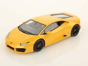 【送料無料】模型車 モデルカー スポーツカー ランボルギーニlooksmart lamborghini huracan lp5802 2015 giallo midas 143 ls455f