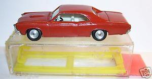 【送料無料】模型車 モデルカー スポーツカー スタンポンティアックボックスイスラエルold rare gamda koor sabra idem cragstan pontiac gto 1969 ref 8107 israel in box