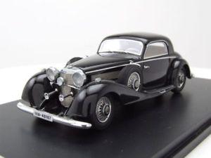 【送料無料】模型車 モデルカー スポーツカー メルセデススポーツクーペブラックモデルカースケールモデルmercedes 540k sport coupe 1936 schwarz, modellauto 143 neo scale models