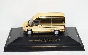 【送料無料】模型車 モデルカー スポーツカー メルセデスベンツスプリンターコレクションパソコンmercedesbenz sprinter dcvdcollection nr 13 gold 187 in pc und ovp