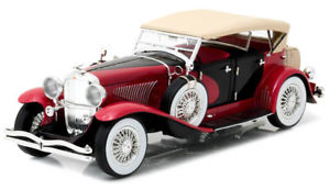 【送料無料】模型車 モデルカー スポーツカー ロッサgreenlight hollywood 118 duesenberg ii sjrossa e nera art 12995