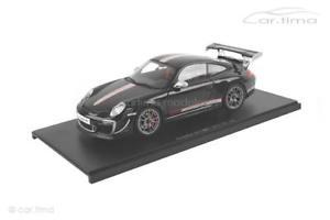 【送料無料】模型車 モデルカー スポーツカー ポルシェグアテマラporsche 911 997 ii gt3 rs 40 schwarz autoart 118 78146