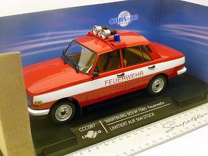 【送料無料】模型車 モデルカー スポーツカー ネットワークccc087 ixo ist 118 wartburg 353 w 1985 feuerwehr ddr