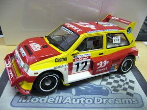 【送料無料】模型車 モデルカー スポーツカー テキサスオースティンラリーコルシカオットーモデルmg austin metro 6r4 rallye grb auriol tdc corse 1986 otto model rar resin 118