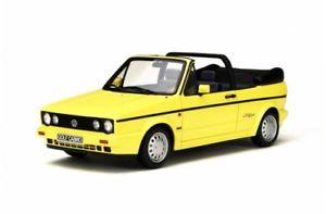 【送料無料】模型車 モデルカー スポーツカー オットーモデルゴルフカブリオラインイエローotto models 693 vw golf i cabrio young line 1979 gelb 118 limited 12000