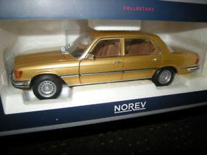 【送料無料】模型車 モデルカー スポーツカー メルセデスベンツゴールド118 norev mercedesbenz 450 sel 69 1976 w116 gold nr 183456 in ovp
