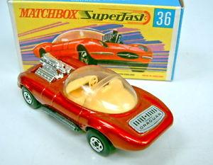 【送料無料】模型車 モデルカー スポーツカー マッチステッカーmatchbox sf nr36b draguar mit draguar aufkleber dunkle einr top in box