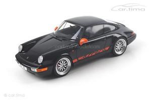 【送料無料】模型車 モデルカー スポーツカー ポルシェカレラグアテマラporsche 911 964 carrera rs schwarz 1 of 1500 gt spirit 118 gt137