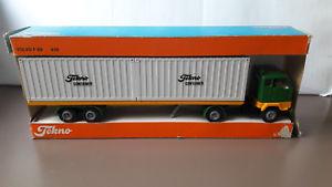 【送料無料】模型車 モデルカー スポーツカー tekno 426 volvo f89 container auflieger metall 150 org in ovp demo promo