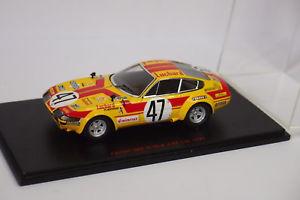 【送料無料】模型車 モデルカー スポーツカー レッドラインフェラーリ#ルマンred line ferrari gtb4 47 le mans 1975 143
